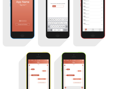 Develop a simple chat app for iOS