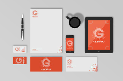 Design full stationery (business cards, letterhead, envelope, folder)