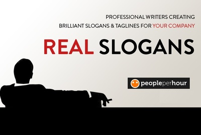 Provide you a perfect slogan or tagline (5 slogans provided)