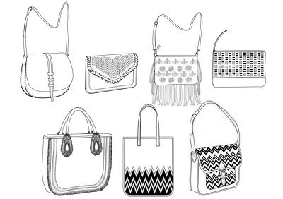 Cad and spec up bag/luggage/accessory design from scratch or from your image