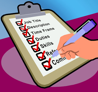 Write an up to date job description inc. person specification