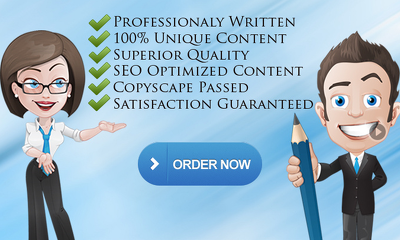 Write unique SEO 400-500 words web content, article or blog