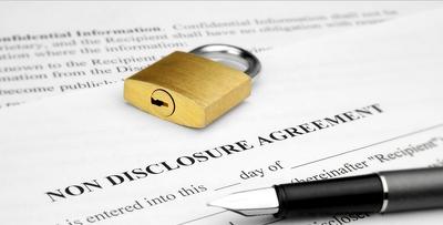 Send a Non Disclosure Agreement NDA