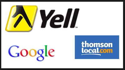 Register your company on Yelp, Google, Thomson Local, Near, Business Index or 192.com