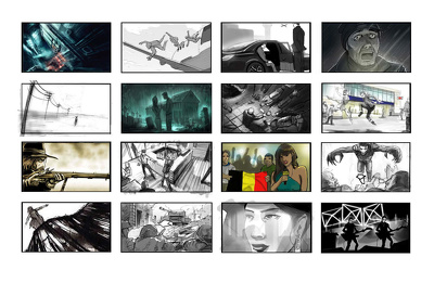 Produce fast and effective storyboards in a range of styles