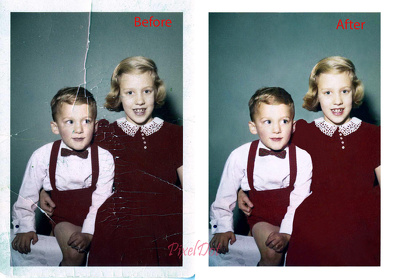 Restore your old photograph