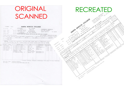 Create, edit or re-create any 2 digital document