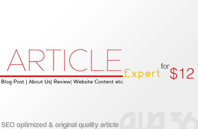 Write 600 word original SEO article on any topic