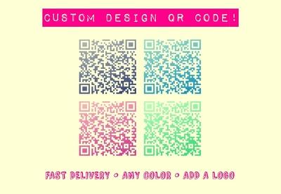 Create a custom QR code