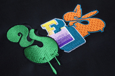 Digitize/embroider your company logo