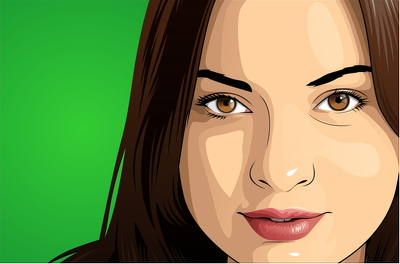 Design a vector illustration or cartoon avatar from your picture
