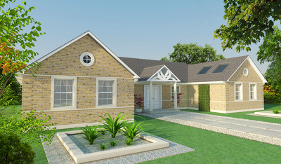 Deliver exterior 3D house visualisations