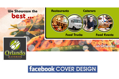 Design your facebook cover / twitter background / web banner / web Ad