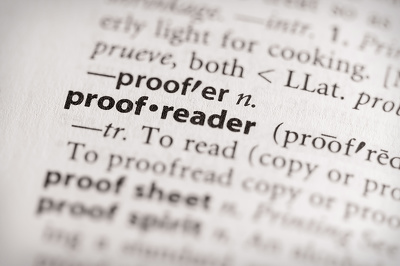 Proofread and edit to a professional, publishable standard