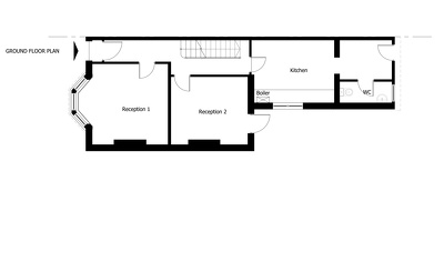 Draw CAD existing surveyed house plans/elevations 2 floors and 4 elevations
