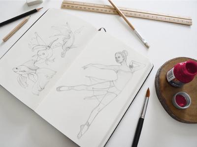 Create an beautiful watercolour or coloured pencil illustration