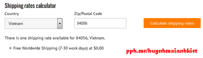Add a shipping rates calculator to cart page in Shopify
