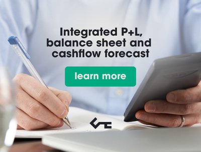 Prepare an integrated P+L, balance sheet and cashflow forecast 1-3 years