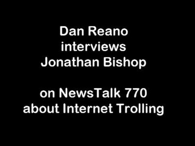 Be interviewed on internet trolling