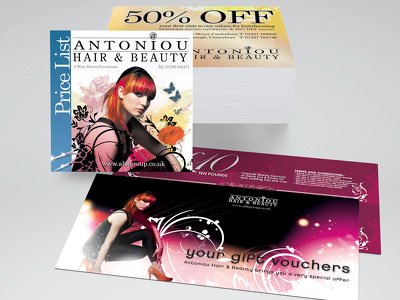 Produce stunning business flyer designs (double sided)