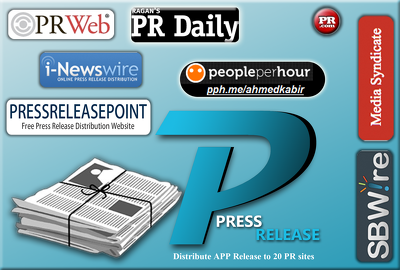 Distribute Press Release for your App or Game Press Release to 20 sites