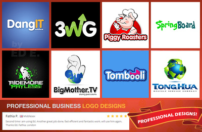 Design an eye-catching  and professional business logo