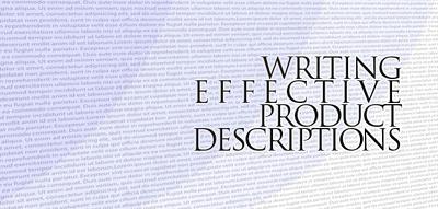 Write unique product description