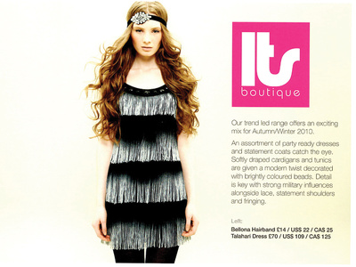 Design your fashion, childrens or home brand brochure/lookbook