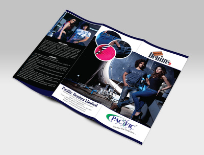 Design your A4/A5/Trifold brochure or flyer or menu