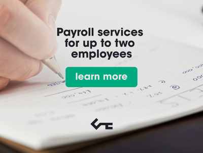 Provide payroll services for upto two employees