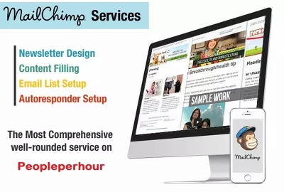 Create professional responsive MailChimp email template
