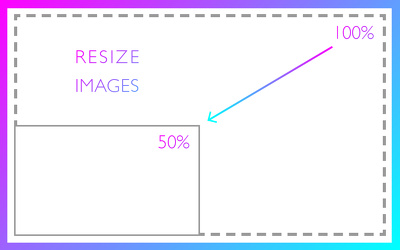 Resize up to 250 images with/without custom watermark