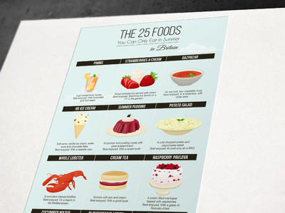Create a wonderful illustrated infographic