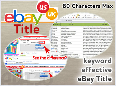 list 10 ebay products with Title + Description + Image optimization to Boost Sales