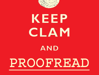 Proofread, review and perfect your website content