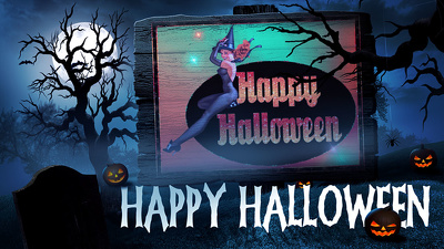 Create an exclusive Halloween video