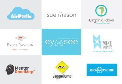 Design logo, flat icon, minimalist logo