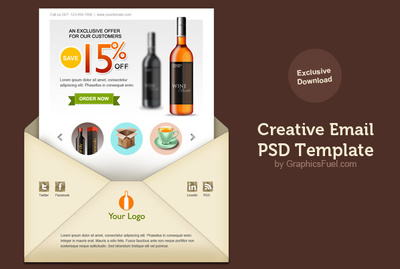 Turn your PSD file into an HTML email
