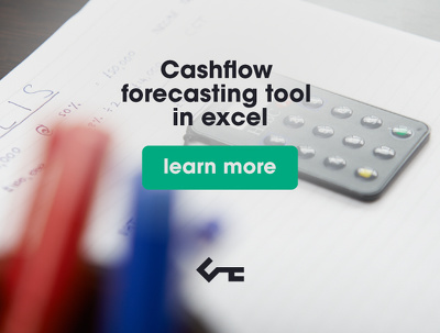 Provide a cashflow forecasting tool in excel