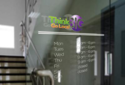 Make door signage style
