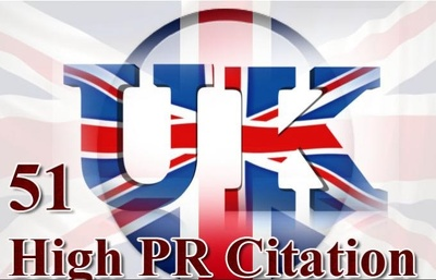 Create 51 high pr local citations for uk based business