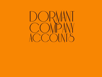 Prepare & submit your dormant company accounts to companies house