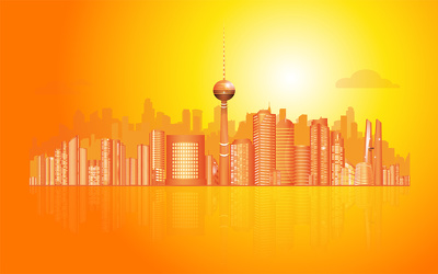 Design a highly Illustrated Skyline of any city for your business or personal use