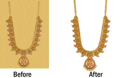 Do high quality jewelry photo retouch / clipping path (5 photos)
