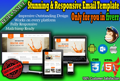 Create stunning and responsive html email template