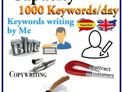 Write efficient 200 keywords for your website