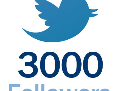 Send you 3000 real Twitter followers to increase your social media and SEO