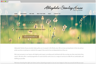 Develop a 3 page website for a small business
