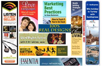 Design google adwords and web slider banners