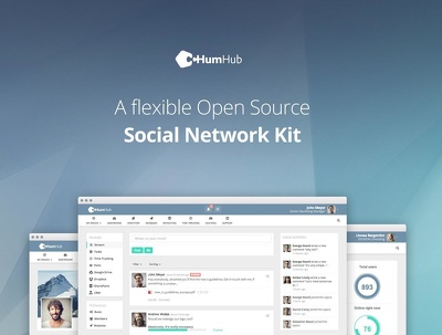 Install your own social network for your business (HumHub)